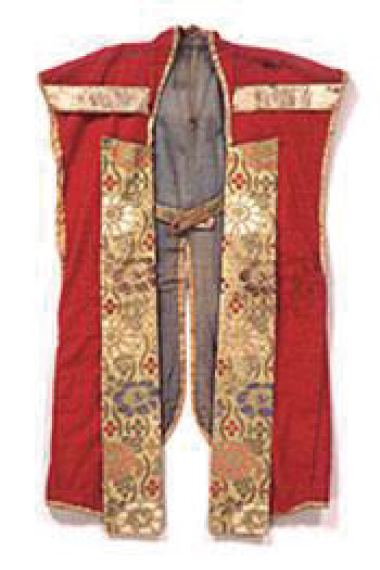 Battle surcoat(worn during 1868)